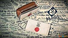 Harry Potter Hogwarts Acceptance Letter Clutch Purse Wallet Birthday xmas Gift