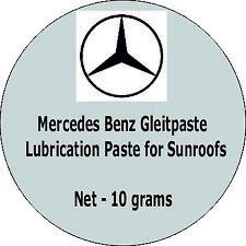Mercedes Benz Sunroof Gleitpaste Lubrication Grease Paste - Genuine Gleitpaste