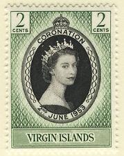 Elizabeth II (1952-Now) Single British Virgin Islands Stamps