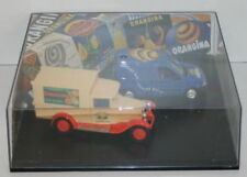 SOLIDO 1/43 SCALE 2 PIECE ORANGINA SET - 1998 RENAULT VAN & 1930 CITROEN C4F