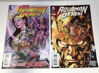 Aquaman and the Others # 7 & 8  DC Comics 2015 VF Mera Dan Jurgens