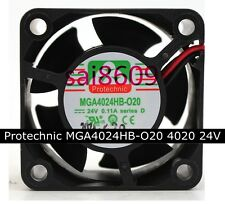 Protechnic MGA4024HB-O20 Double ball Cooling fan 4020 24V 0.11A  2.64W 2pin