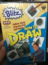 How To Draw With Bruce Blitz brand NEW/sealed DVD (art / drawing)