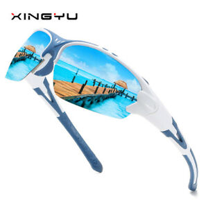Sport Polarized Cycling Sunglasses for Men Women Outdoor Driving Fishing Glasses
