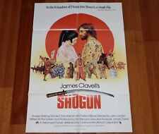 ORIGINAL MOVIE POSTER SHOGUN 1980 UK FOLDED ONE SHEET