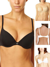 Wonderbra Invisible Push Up T-Shirt Bra W9443 Underwired Padded Lingerie
