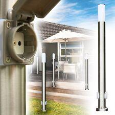 Lampadaire extérieur avec 2 prises de courant Lampe de jardin Luminaire 142374