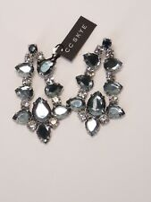 CC Skye Earrings Blue Iridescent Crystal Drop Statement USA Seller New with Tags
