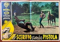Plakat DER MANN Des Plains Boy From Oklahoma Will Roger Jr. Nancy Olson Western