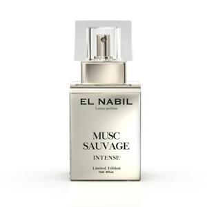 Musc Sauvage 15ml INTENSE Eau de Parfum Spray - El Nabil für Herren & Mann Duft