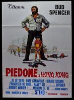 Werbeplakat Piedone A Hong Kong Von Steno Bud Spencer Enzo Cannavale Lala M285