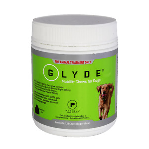 Glyde Mobility Chews for Dogs 120 Chews GLMP Chondroitin, Glucosamine