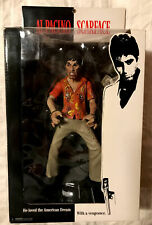 Al Pacino Scarface Mezco Action Figure The Runner Variant With Bloody Clothing.