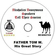 Alcoholics Anonymous AA 12 Step Speaker CD - Father Tom W. His Story of Recovery
