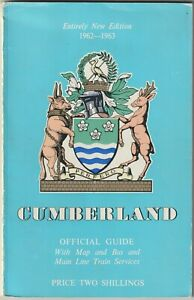 CUMBERLAND Official Guide 1962-63 illustrated history information adverts map