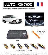 Pack FULL LED intérieur pour Range Rover 3 L322 ( Kit ampoules blanc pur )