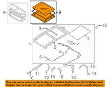 SUBARU OEM 05-09 Outback Sunroof-Rear Glass 65430AG01B