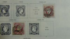 Portugal stamp collection on Scott Int'l pages w/ est # 517 or so - '79