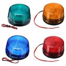 12V Flashing Strobe Beacon Emergency LED Warning Light Car Auto Amber Lamp