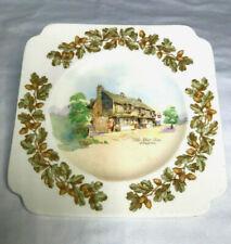 Royal Doulton Old English Inns The Star Inn Alfriston D6072 Reg Australia Plate