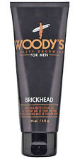 Woody's Quality Grooming for Men Brickhead Matte Styling Gel, Adds strength 4oz.