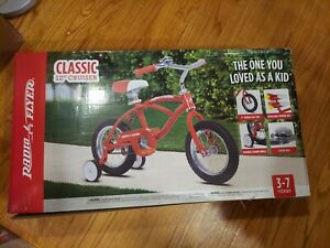 Radio Flyer Classic 12 inch Red Cruiser Bicycle Bike 01202 Kids 3-7 years old
