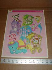 Vtg original Zoolery Kiddles Little Kiddles 1969 mattel Whitman Large puzzle USA
