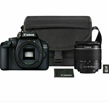 Canon EOS 4000D DSLR Camera Kit - EF-S18-55mm Lens - Cannon Bag - 16GB SD Card