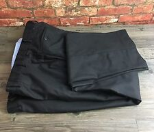 Marks and Spencer M&S Wool With Cashmere Black Trousers W38 L33