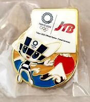 2020 Tokyo Olympic JTB MIRAITOWA MASCOT pin