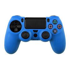 Schutzhülle für PS4 Silikon Schutz Hülle Playstation 4 Silicone Case Hell Blau