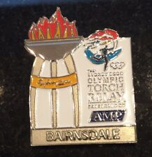 BAIRNSDALE Sydney 2000 Olympic Torch Relay AMP sponsor pin