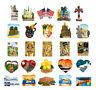 3D Resin Fridge Magnet World Famous Attractions Tourist Travel Souvenir Gift