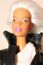 X-Men Storm Full Head White Hair Reroot Christie AA Doll OOAK