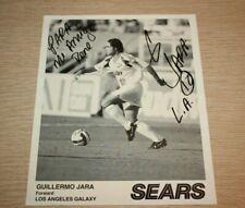 Los Angeles Galaxy MLS Soccer Guillermo Jara Forward SIGNED Photo 1996 Inaugural