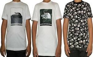 The North Face Kids Boys T Shirt TShirt Tee Cotton Casual T-Shirt Tops Size Age