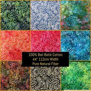 Fabric Freedom 100% Cotton Indonisian BALI BATIK Craft & Fashion Fabric BK407