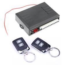Universal Car Alarm System Central Door Lock Keyless Entry 2 Remote Controls Kit