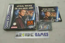 STAR WARS THE NEW DROID ARMY GAMEBOY ADVANCE ANGLAIS ITALIEN (vendeur pro)