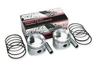Wiseco K Piston Kit (74ci., Domed) *STD*, 3.437in., 9:1 HD PanHead/ShovelHead