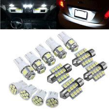 Universal 13PC White LED Interior Car Light Lamp Kit For 2004-2012 Ford Toyota