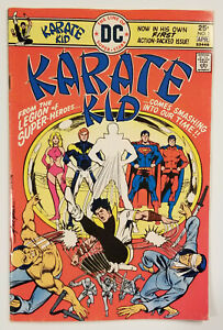 Karate Kid #1 (7.0 FN/VF! Awesome Mike Grell Cover! APP Nemisis Kid/Mon-El...!)