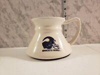 Vintage NFL Minnesota Vikings Ceramic White Coffee Mug