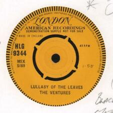 "The Ventures(Demo 7"" Vinyl)Lullaby Of The Leaves / Ginchy-London-HLG 93-Ex/Ex-"