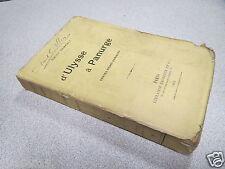 D ULYSSE A PANURGE EMILE GEBHART HACHETTE 1902 CONTES HEROI COMIQUES *