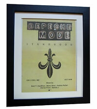 DEPECHE MODE+It's No Good+POSTER+AD+RARE ORIGINAL 1997+FRAMED+FAST GLOBAL SHIP