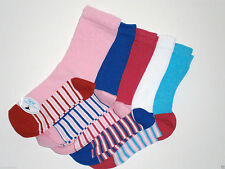 Striped Ankle Socks & Tights (2-16 Years) for Girls