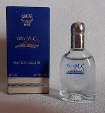 Miniature de parfum  Very M.C. MCM   EDT 5 ml + b