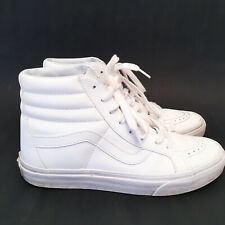 Vans SK8-Hi LX VLT Vault Premium Leather True White US 6 Mens (US 7.5 Womens) 38