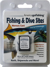 St Lucie and Indian River Counties Fishing & Dive Sites Memory Card